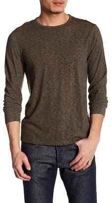 John Varvatos Heathered Knit Crew Neck Sweater
