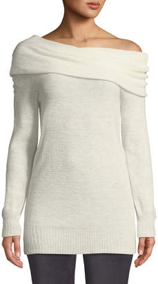 Trina Turk Willow Glen Off-The-Shoulder Cozy Sweater