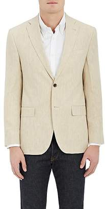 Piattelli MEN'S LINEN TWO-BUTTON SPORTCOAT