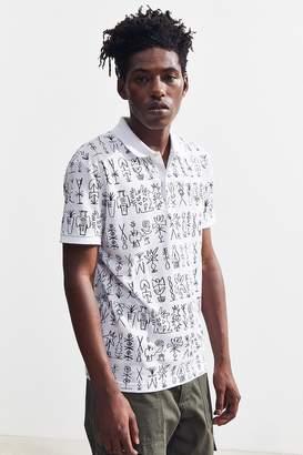 Lacoste Printed Pique Polo Shirt