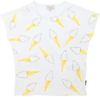 Paul Smith Ice Cream Print Cotton Jersey T-Shirt