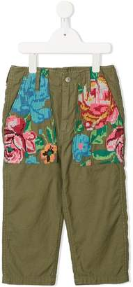 Go To Hollywood floral print trousers