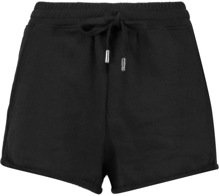 Alexander WangT by Alexander Wang Cotton-terry shorts