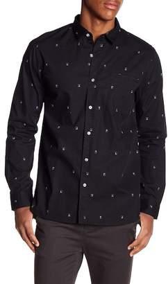 Tavik Porter Slim Fit Patterned Shirt
