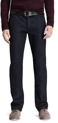 John Varvatos Collection Jeans - Pick Stitch Slim Fit in Navy