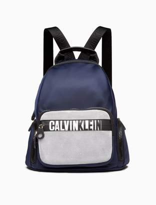 Calvin Klein athleisure nylon small backpack