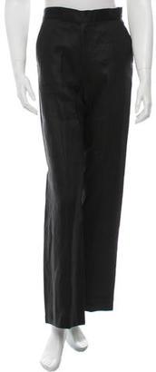 Yohji Yamamoto High-Rise Wide-Leg Pants w/ Tags $195 thestylecure.com