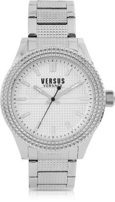Versace Versus Bayside Silver Tone Stainless Steel Unisex Bracelet Watch