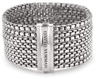 David Yurman Box Chain Eight-Row Bracelet, 32Mm