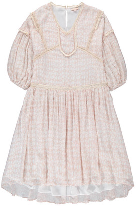 LOUISE MISHA Tinja Silk and Cotton Dress - Women's Collection $259.20 thestylecure.com