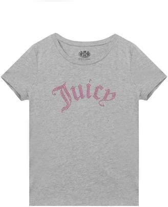 Juicy Couture Gothic Juicy Short Sleeve Tee for Girls