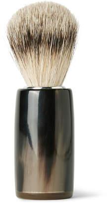 Abbeyhorn - Horn and Super Badger Bristle Shaving Brush