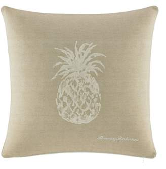 Tommy Bahama Pineapple Canvas Accent Pillow