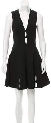 Cushnie et Ochs Cutout Mini Dress