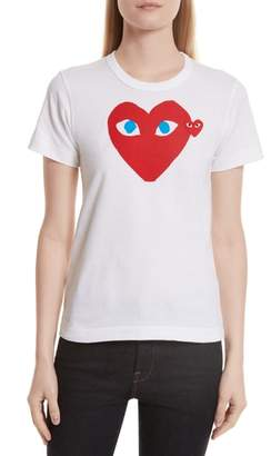 Comme des Garcons Heart Graphic Tee