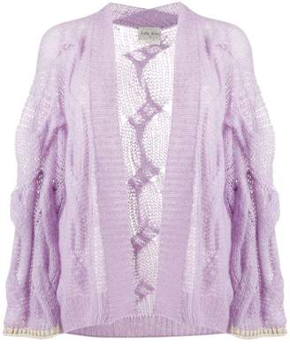 Forte Forte loose-fit cable knit cardigan