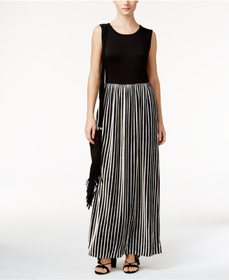 Grace Elements Striped Maxi Dress $80 thestylecure.com