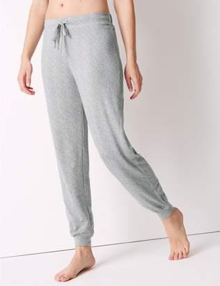 Marks and Spencer Textured Long Pant Pyjama Bottoms