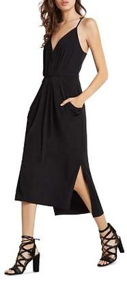 BCBGeneration Faux Wrap Midi Dress