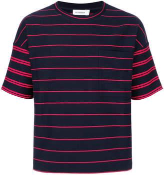 Jil Sander oversized striped T-shirt