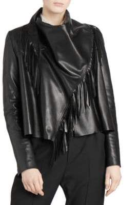 Isabel Marant Fringed Leather Jacket