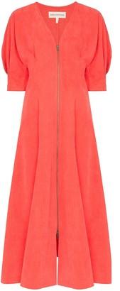 Mara Hoffman Sophie puff-sleeve dress
