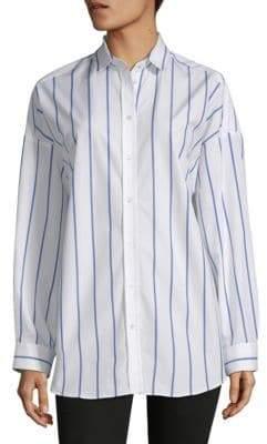 Iro . Jeans Anicet Cotton Button-Down Shirt