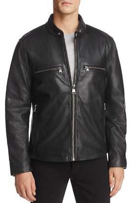 Andrew Marc Bedford Leather Moto Jacket