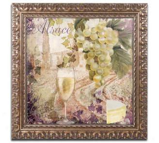 Trademark Global Color Bakery 'Wine Country I' Ornate Framed Art