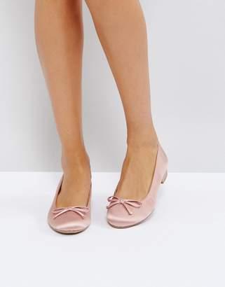 Call it SPRING Desarro Satin Ballerina Shoes
