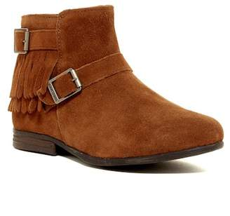Minnetonka Rancho Buckle Fringe Boot $69.95 thestylecure.com