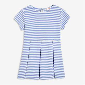 Joe Fresh Baby Girls' Pleated Dress, Dusty Blue (Size 18-24)