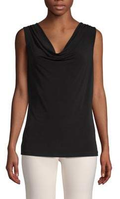 Calvin Klein Sleeveless Cowlneck Top