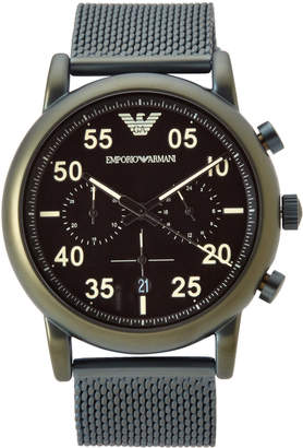 Emporio Armani AR11115 Green & Black Watch