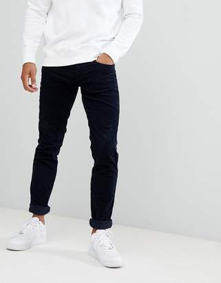 Replay Anbass slim stretch corduroy jeans in navy