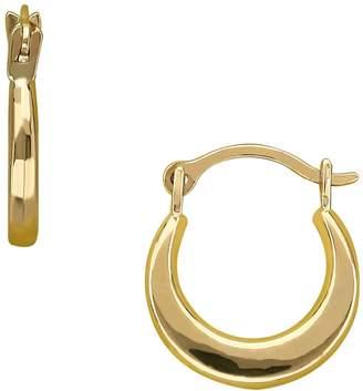 Fine Jewellery Kids 14K Yellow Gold Round Hoop Earrings