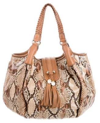 Gucci Python Marrakech Bag Brown Python Marrakech Bag