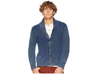 Frye Jefferson Long Sleeve Shawl Cardigan