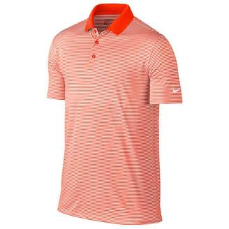Nike Mens Victory Short Sleeve Mini Stripe Polo Shirt (S)