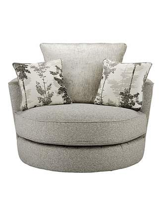 At Home Luxe Eloise Swivel Chair