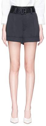 Marc Jacobs Belted cotton shorts