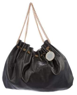 Stella McCartney Vegan Leather Hobo Black Vegan Leather Hobo