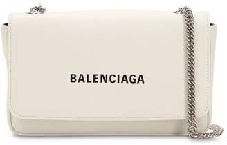 Balenciaga Everyday Chain Leather Shoulder Bag