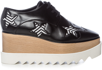 STELLA MCCARTNEY Elyse lace-up platform shoes $692 thestylecure.com