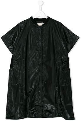 Andorine oversized zipped coat