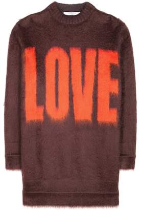 Givenchy Mohair and wool-blend sweater