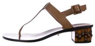 Gucci Bamboo Thong Sandals