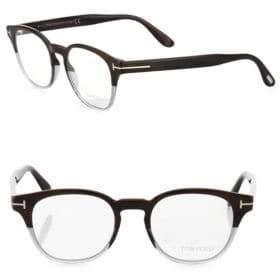 Tom Ford 48MM Soft Round Optical Glasses