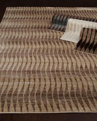 Concerted Waves Rug, 9' x 12'