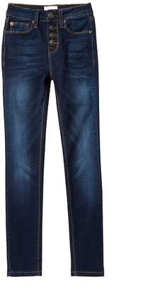 Hudson Super Stretch High Waisted Jeans (Big Girls)